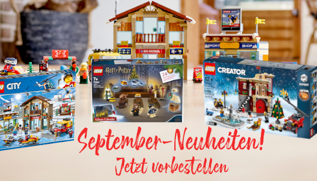 September 2019 - Neuheiten