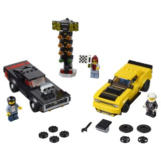 LEGO® Speed Champions 75893 - 2018 Dodge Challenger SRT Demon und 1970 Dodge Charger R/T