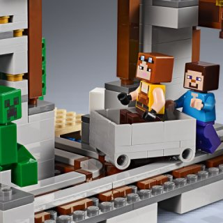 LEGO® Minecraft 21155 - Die Creeper Mine