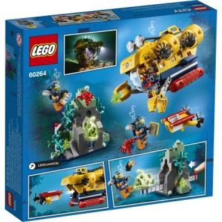 LEGO® City 60264 - Meeresforschungs-U-Boot