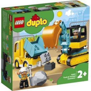 LEGO® DUPLO® 10931 - Bagger und Laster