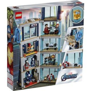 LEGO® Marvel Super Heroes 76166 - Avengers - Kräftemessen am Turm