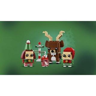 LEGO® Brickheadz 40353 - Rentier und Elfen