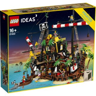 LEGO® Ideas 21322  -  Piraten der Barracuda-Bucht