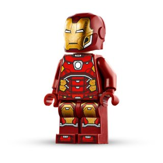 LEGO® Marvel Super Heroes 76140 - Iron Man with Silver Hexagon on Chest aus Set 76140  - Figur