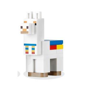 LEGO® Minecraft 21167 - Minecraft Alpaca / Llama, White - Brick Built aus Set 21167 - Figur