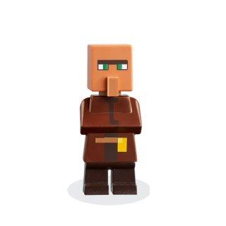 LEGO® Minecraft 21165 - Villager - Dark Tan Pouch aus Set 21165 - Figur