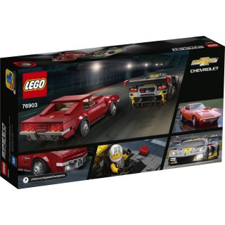 LEGO® Speed Champions 76903 - Chevrolet Corvette C8.R & 1968 Chevrolet Corvette