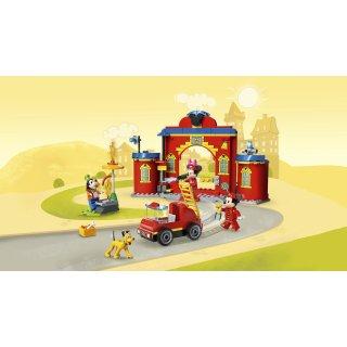 LEGO® Disney 10776 - Mickys Feuerwehrstation und Feuerwehrauto