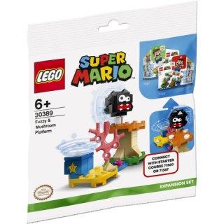 LEGO® SUPERMARIO 30389 - Fuzzy & Pilz-Plattform – Erweiterungsset - Polybag