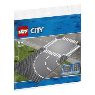 LEGO® City 60237 - Kurve und Kreuzung
